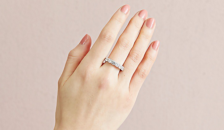 ダイヤモンド カラーストーン 宝石 低価格 ハイジュエリー 試着